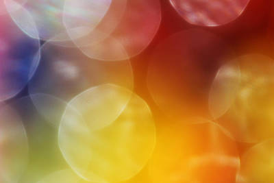 Colorful Abstract 7 Print by Mary Bedy