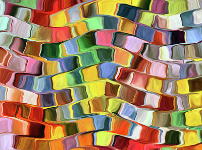 Digital Art - Colorful Abstract Background by Grigoriosmoraitis