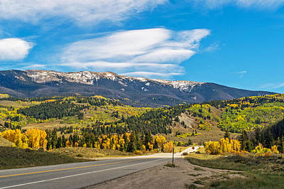 Photograph - Colorful And Scenic Highway In Colorado by Willie Harper