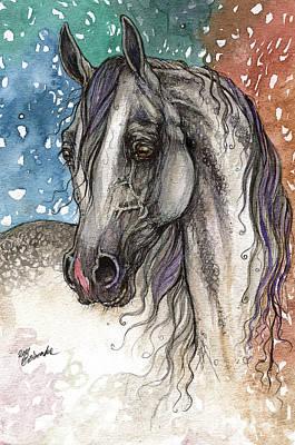 Colorful Arabian Horse  Original by Angel  Tarantella