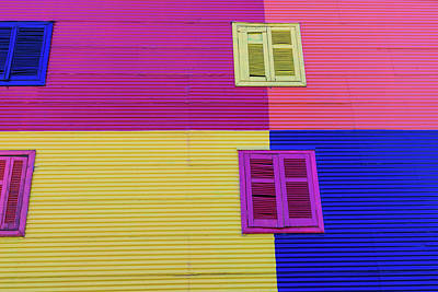 Photograph - Colorful Area In La Boca Neighborhoods by Mariusz prusaczyk