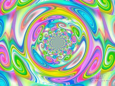 Digital Art - Colorful Art by Annie Zeno