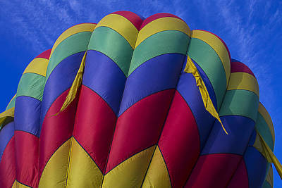 Photograph - Colorful Balloon Close Up by Garry Gay