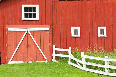 Photograph - Colorful Barnyard by Alan L Graham