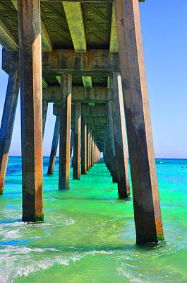 Photograph - Colorful Beach by Vonda Barnett