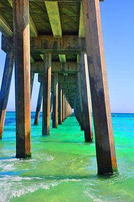 Photograph - Colorful Beach by Vonda Barnett