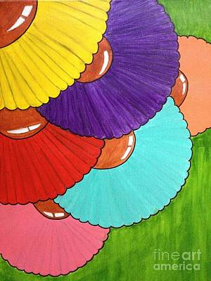Painting - Colorful Blooms by Damion Powell
