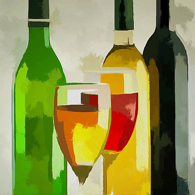 Colorful Bottes Art Print by Yury Malkov