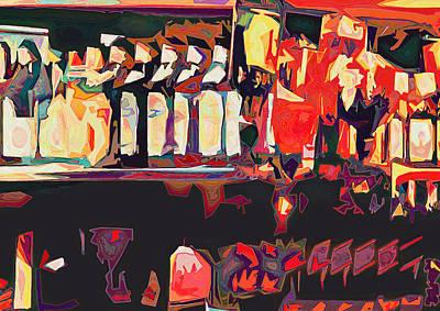 Colorful Bottles Original by Gustav Boye