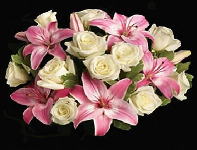 Digital Art - Colorful Bouquet by Dennis Buckman