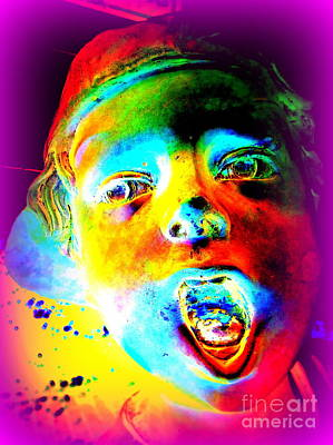 Photograph - Colorful Boy by Ed Weidman