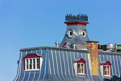 Quebec Photograph - Colorful Building, Quebec City (unesco by Keren Su