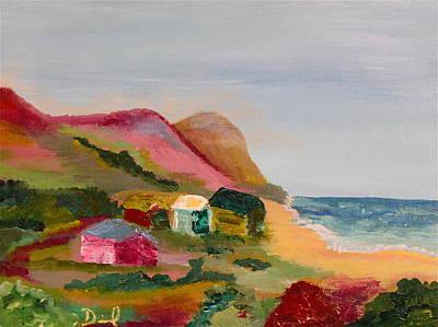 Colorful Cambria  Original by David  Sulsh