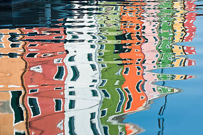 Photograph - Colorful Canal by Joan Herwig