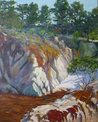 Colorful China Cove Original by Marian Fortunati