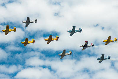 Photograph - Colorful Classic Fly By by Bill Pevlor