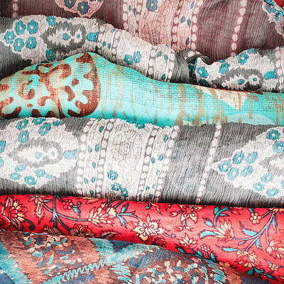 Colorful Cloths Art Print
