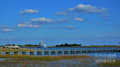 Photograph - Colorful Coastal Scene 16x9 Ratio by Bob Sample