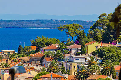 Photograph - Colorful Coastal Town Of Mali Losinj by Brch Photography