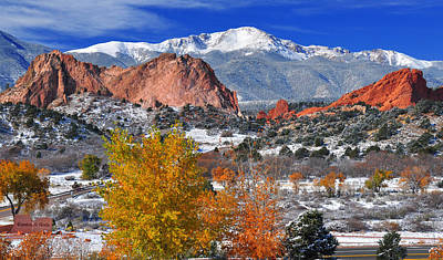 Colorful Colorado Art Print