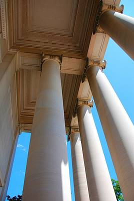 Photograph - Colorful Columns by Kenny Glover