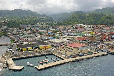 Photograph - Colorful Community In Dominica by Willie Harper