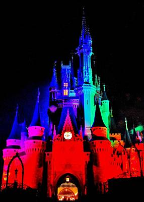 Photograph - Colorful Disney by Benjamin Yeager