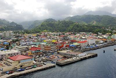 Photograph - Colorful Dominica by Willie Harper
