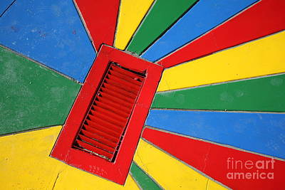 Colorful Drain Art Print by James Brunker