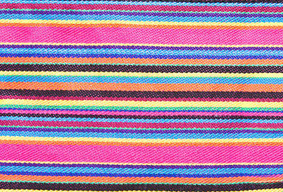 Crochet Thread Photograph - Colorful Fabric by Tom Gowanlock
