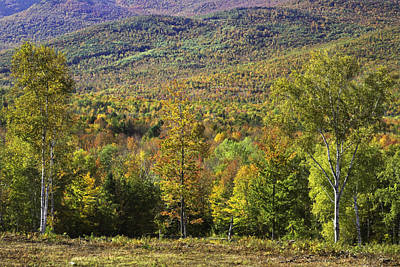 Colorful Fall Landscape From Center Hill In Weld Maine Art Print by Keith Webber Jr