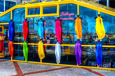 Kathryn Photograph - Colorful Fashions by Jim Carrell