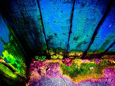 Photograph - Colorful Fence by Arlene Sundby