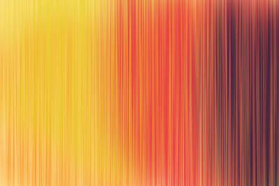 Colorful Fibres Art Print