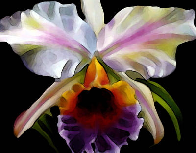 Painting - Colorful Floral by Dennis Buckman