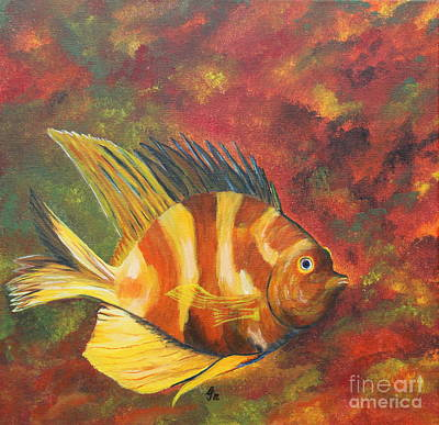 Colorful Flunder Original by Christiane Schulze Art And Photography