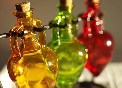 Pyrography - Colorful Glass by Willard Killough III