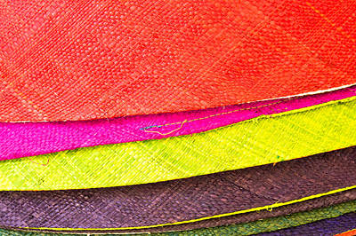 Clothes Clothing Photograph - Colorful Hats by Tom Gowanlock