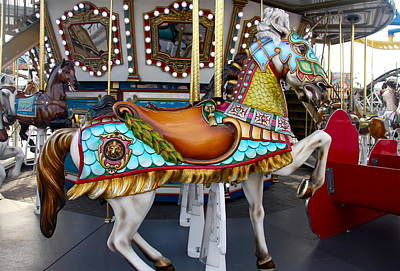 Photograph - Colorful Horse by Denise Mazzocco