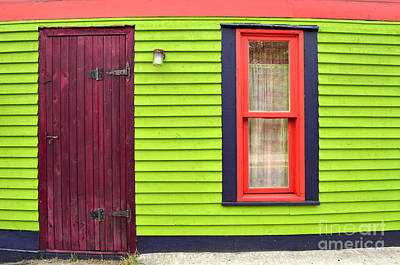 Newfoundland Digital Art - Colorful House In St John Newfoundland Canada by Eva Kaufman
