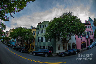 Photograph - Colorful Houses by Dale Powell