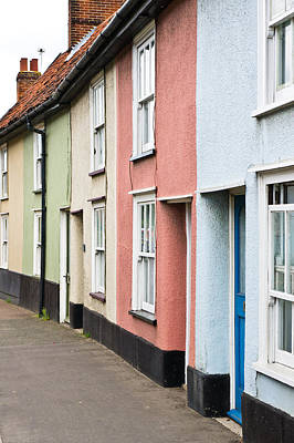 Old Neighbourhood Photograph - Colorful Houses by Tom Gowanlock