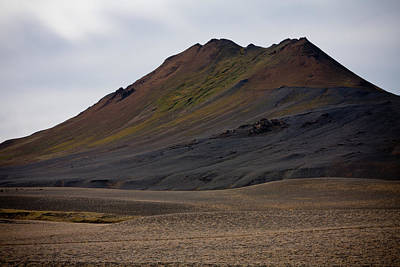 Photograph - Colorful Icelandic Mountain by Anthony Doudt