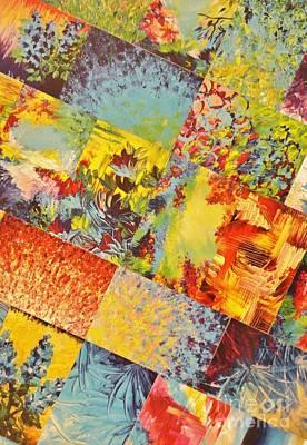 Portfolio Painting - Colorful Indecision 3 by Julia Di Sano