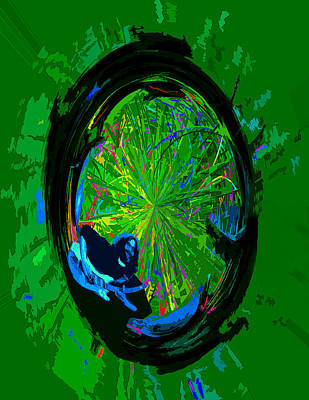 Photograph - Colorful Jerry Wheel Of Life by Ben Upham III