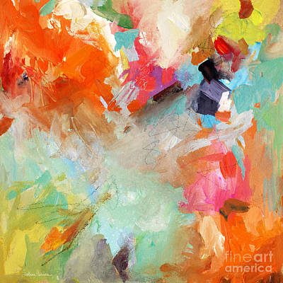 Vibrant Mixed Media - Colorful Joy by Svetlana Novikova
