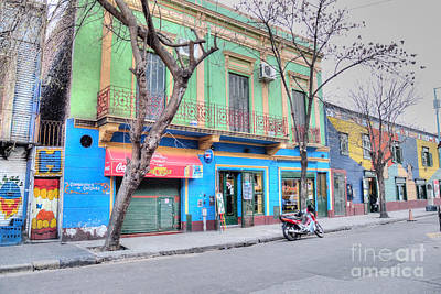 Photograph - Colorful La Boca by Deborah Smolinske