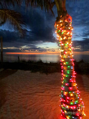 Photograph - Colorful Lights At Sunset by Patricia Januszkiewicz
