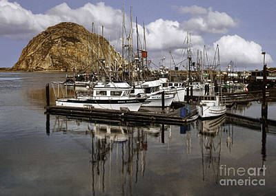 Photograph - Colorful Morning Harbor by Sharon Foster