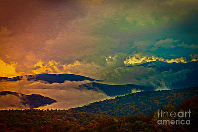 Photograph - Colorful Morning On Skyline Drive by Dawn Gari